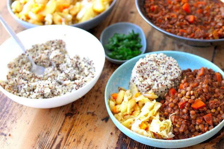 Ethiopian Lentil Stew 1